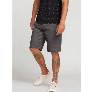 NWOT Men's Volcom Fricken Chino Shorts Dark Grey